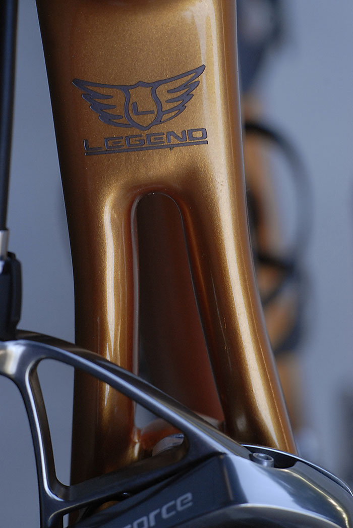 Legend bicycles decal