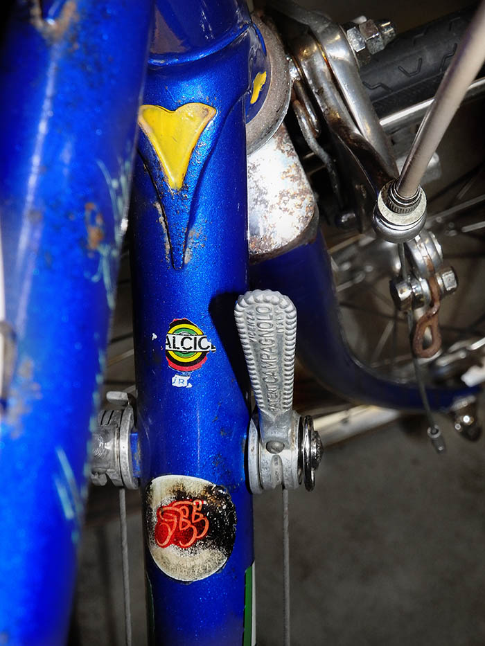 Campagnolo friction downtube shift levers