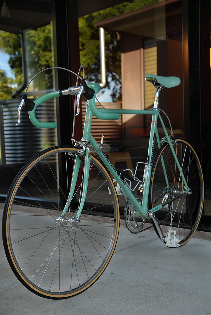 Campagnolo C Record 1 Gen equipped Bianchi X4