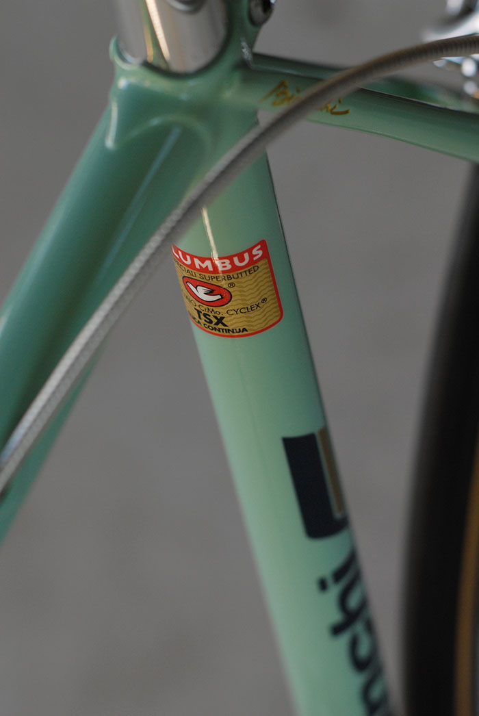 Bianchi X4's were usually built with Columbus TSX, SLX or SPX.