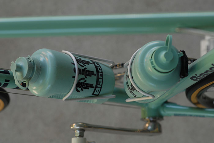 This Bianchi cycling water bottle was available to consumers as well as pro team riders.