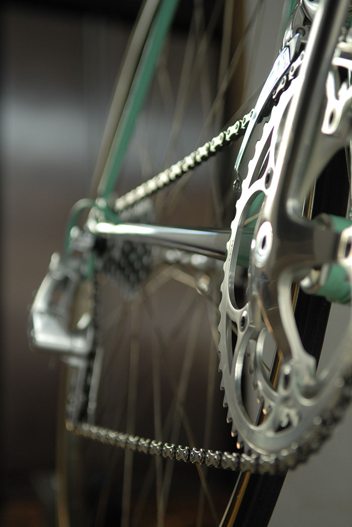 Campagnolo 53 T chain ring C Record.