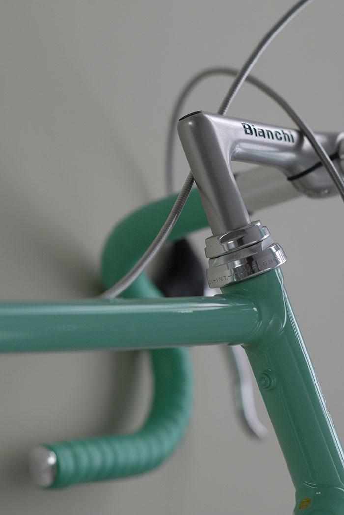Campagnolo C Record headset.