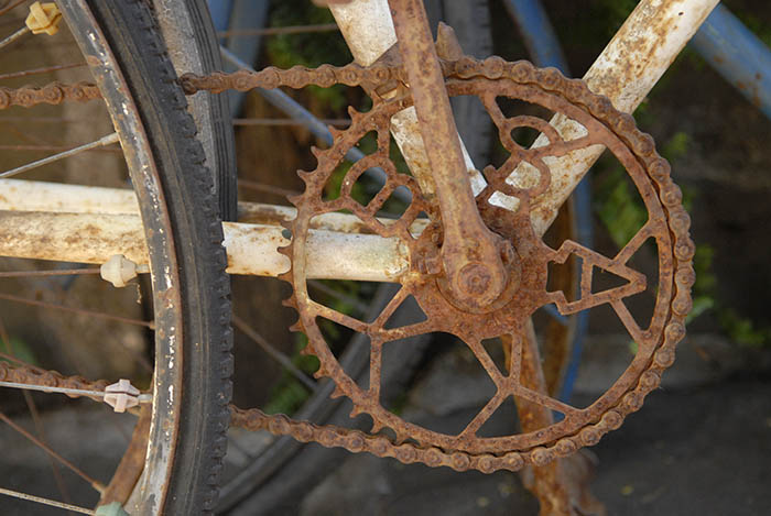 BSA was big in Australia in the first half of the twentieth century, before Italian imports like Campagnolo made their appearance in the second half of the century.