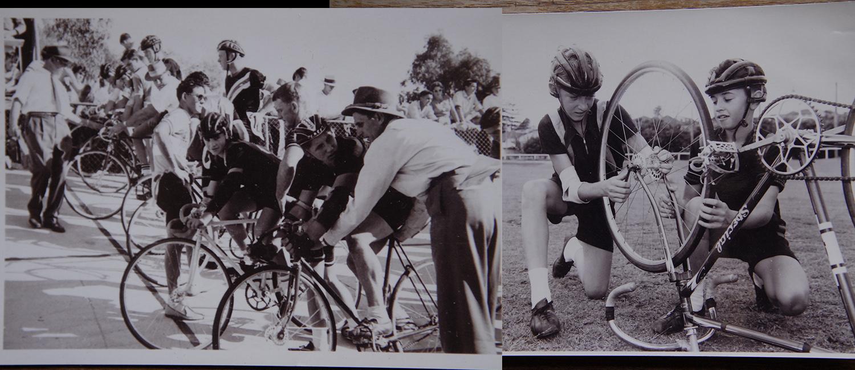 Whip at Hawthorne Park velodrome back in the 1950's
