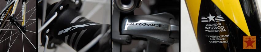 Trek bikes designed in Waterloo Wisconsin USA