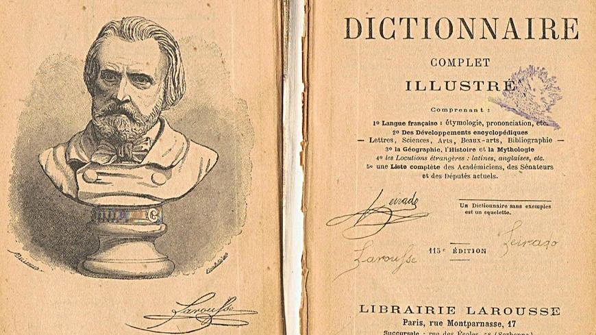 Pierre Larousse had no culinary ties whatsoever. He was famous for writing dictionaries and encyclopedias- not cookbooks! He founded the publishing house Éditions Larousse & died 60 years before Larousse Gastronomique was even written!