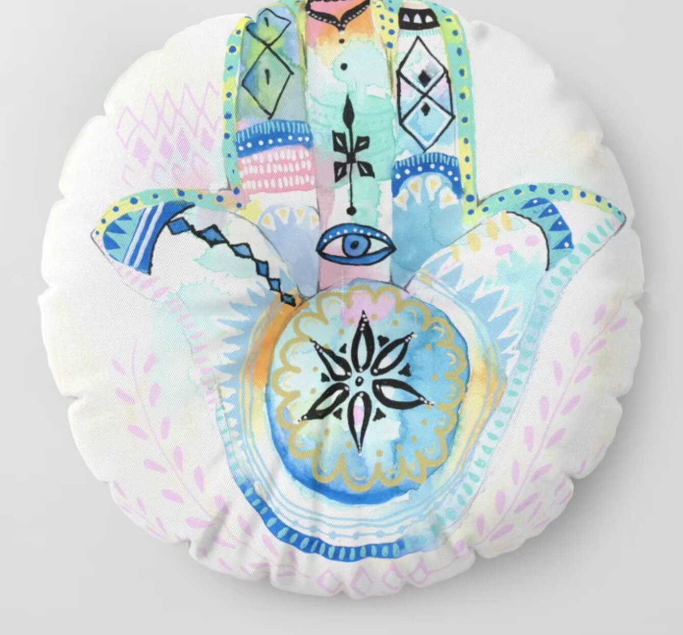 HamsaHand-MeditationCushion-gingerdeverell.jpg