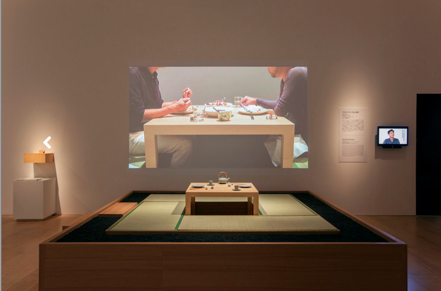 "Lee Mingwei, "" The Dining Project ,"" 1997/2014. Photo courtesy: Mori Art Museum, Tokyo."