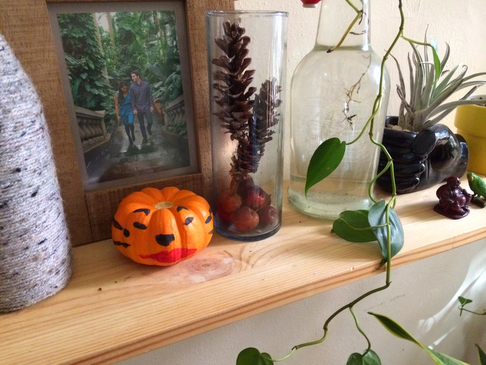 Foraged Fall Decor