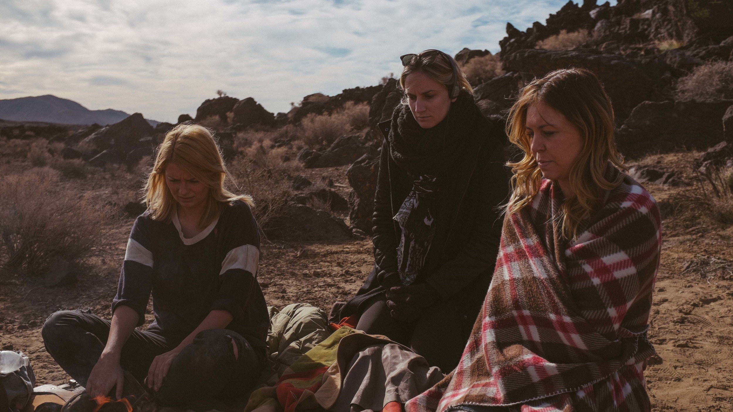 'Deserted' Behind the Scenes L to R- Mischa Barton, Director Ashley Avis and Dana Rosendorff.jpg