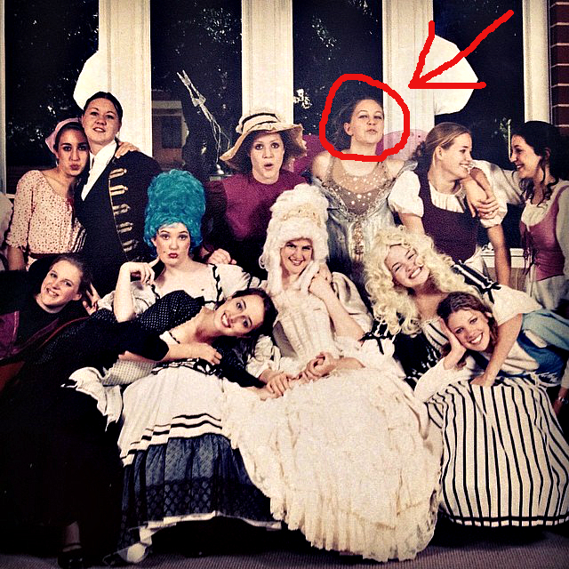 The cast of  Cinderella, 17 years of age...