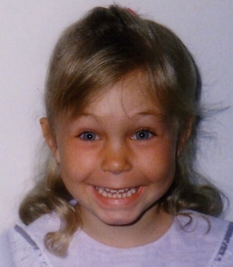 Baby Dana, age four...check out those cheeks!!