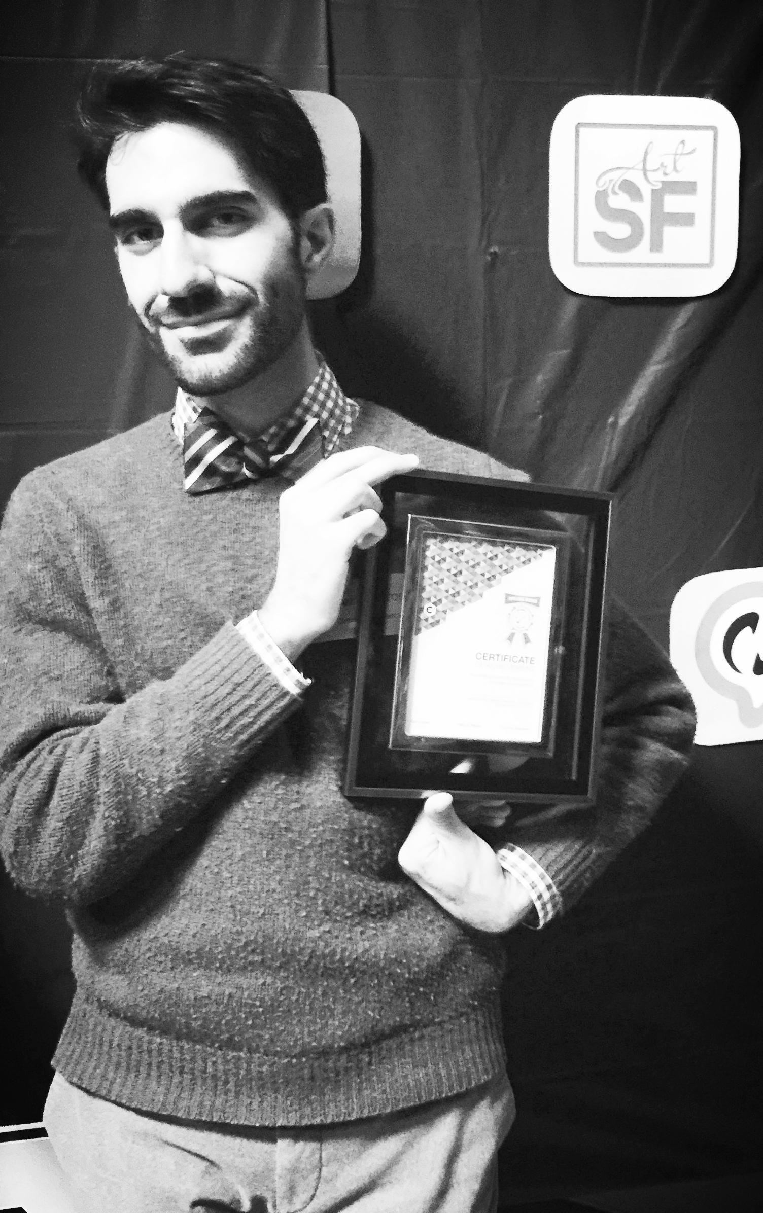 SF Art Opening wins the best UX award