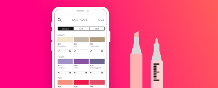 Color Stash (Ongoing )  Improving how artists keep track of their color inventory   Learn More →