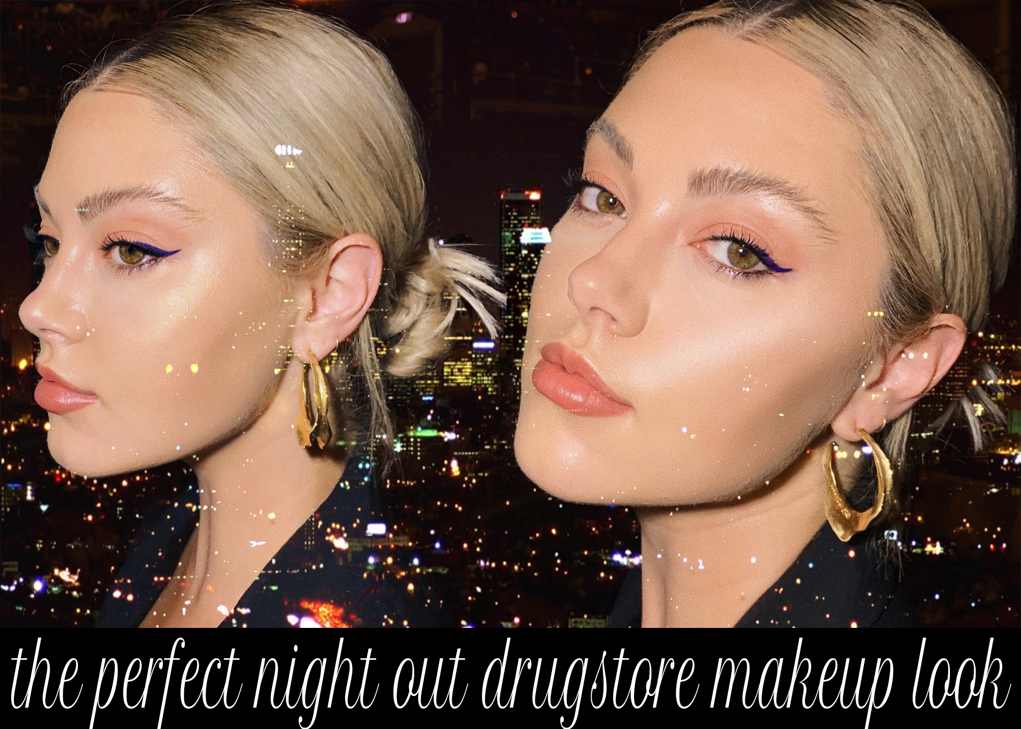 The Perfect Night Out Drugstore Makeup Look