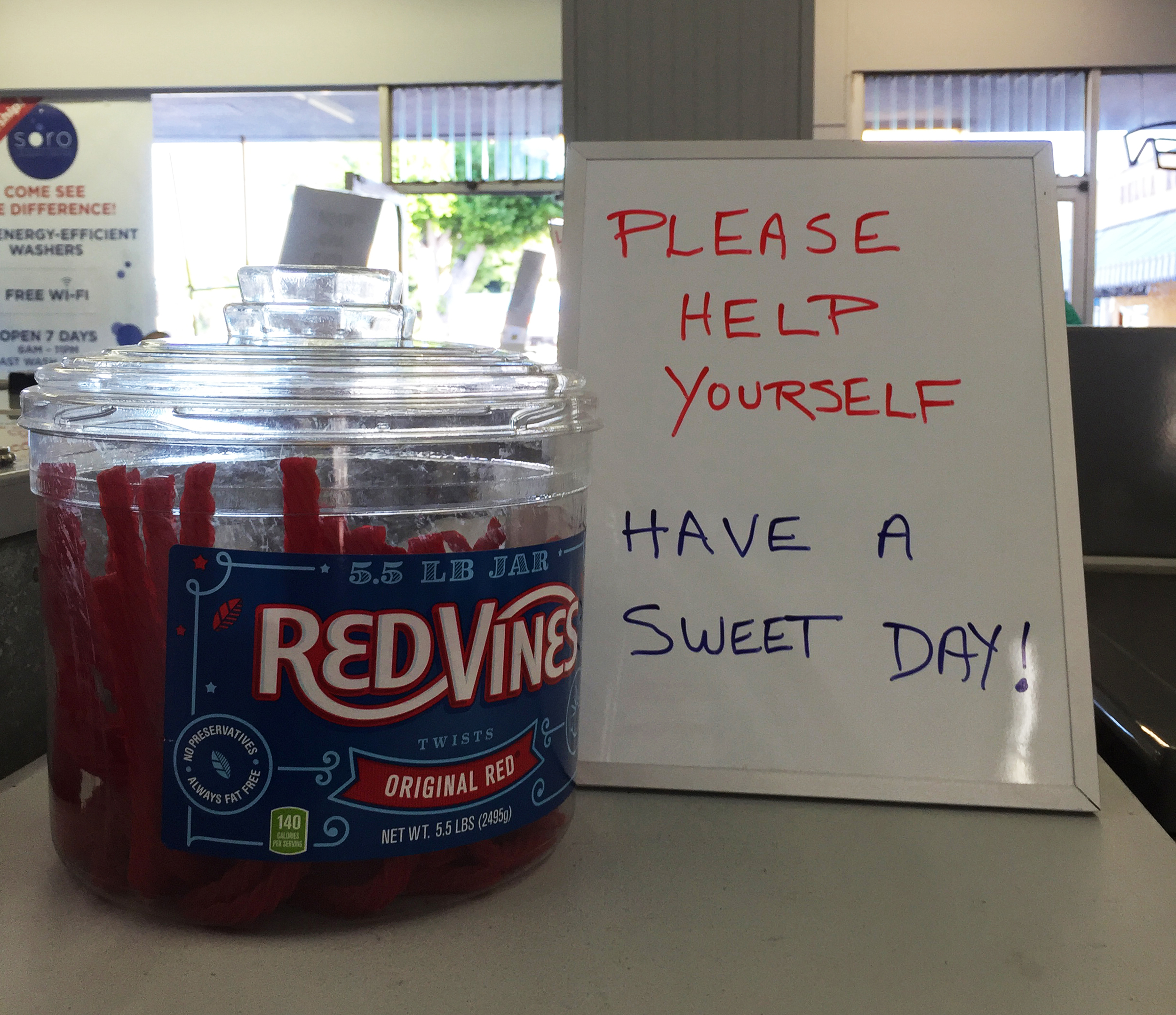 Sweet treats for our sweet customers!