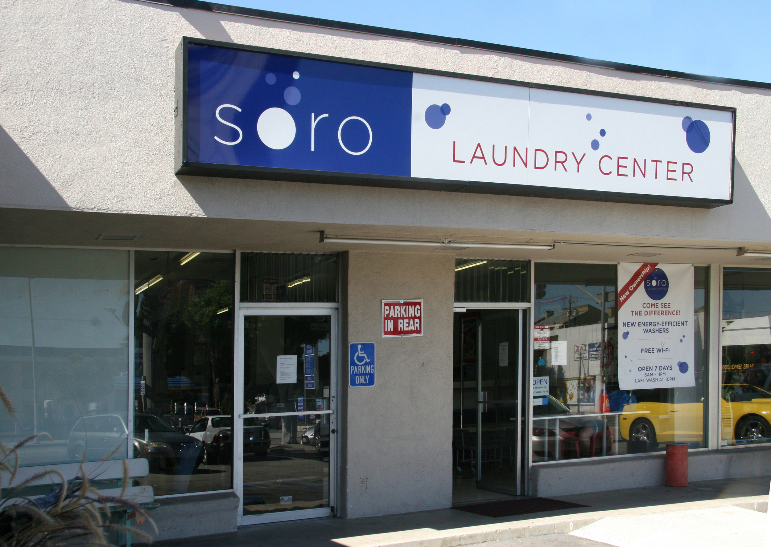 Come visit us at Soro Laundry Center