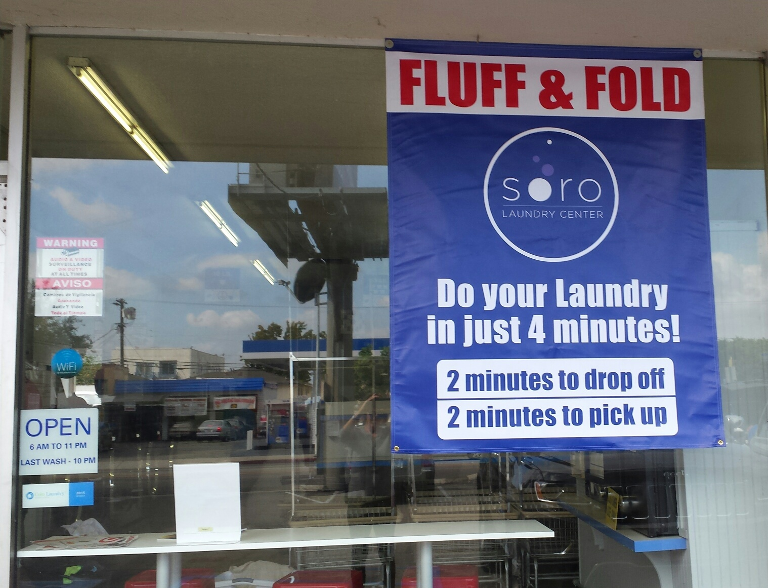 Fluff & Fold service saves you a ton of time!