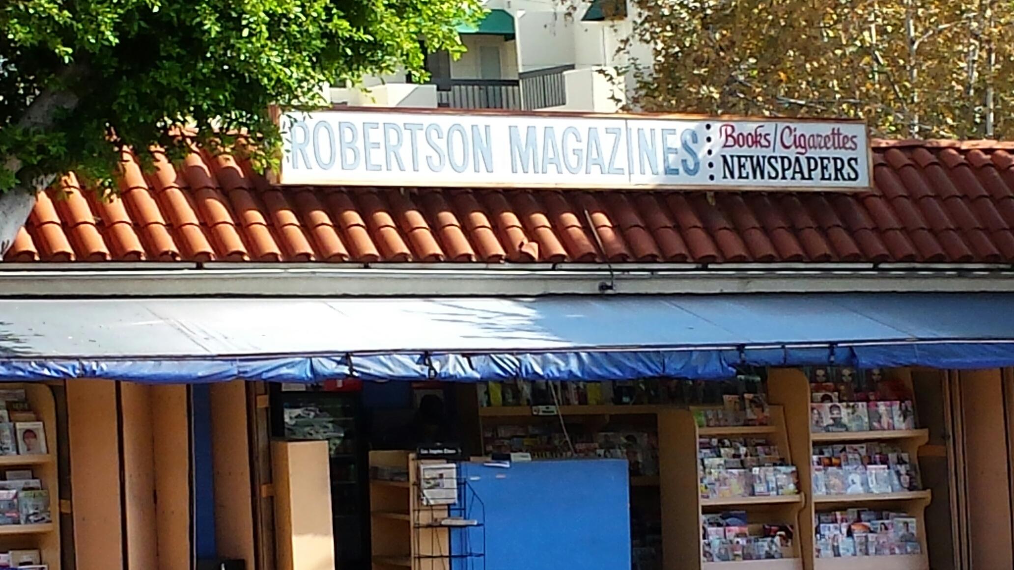 Our neighborhood newsstand