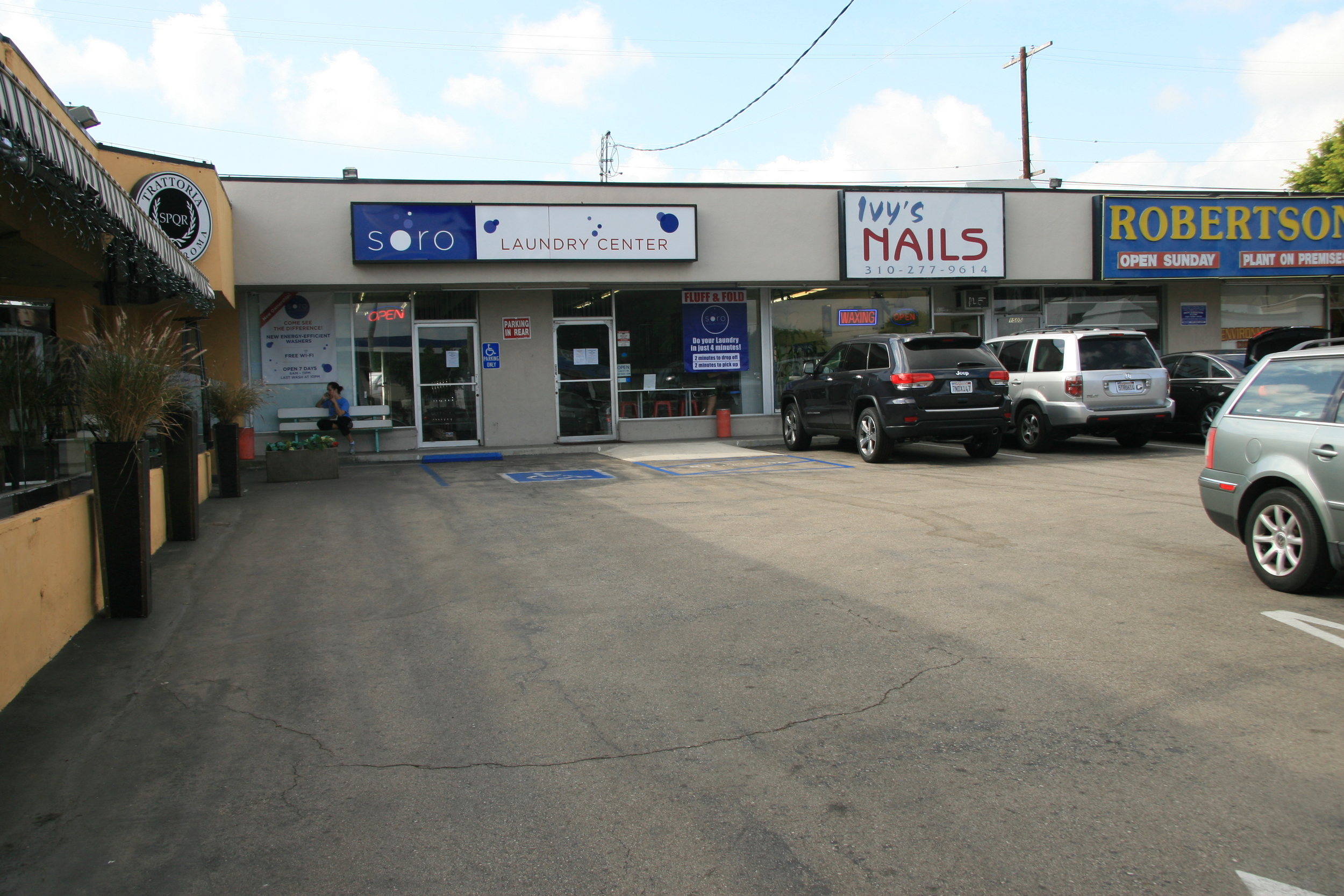 We are conveniently located next to various businesses.