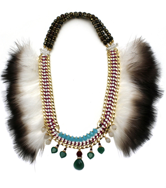 083 Two-tone Feather Crystal Necklace.jpg