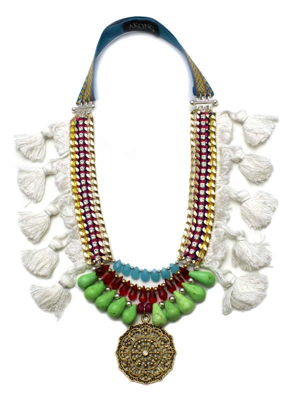 086 White Tassel Tribal Necklace.jpg