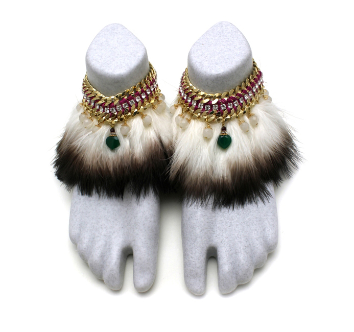 097 Two-tone Feather Crystal Foot Embellishment.jpg