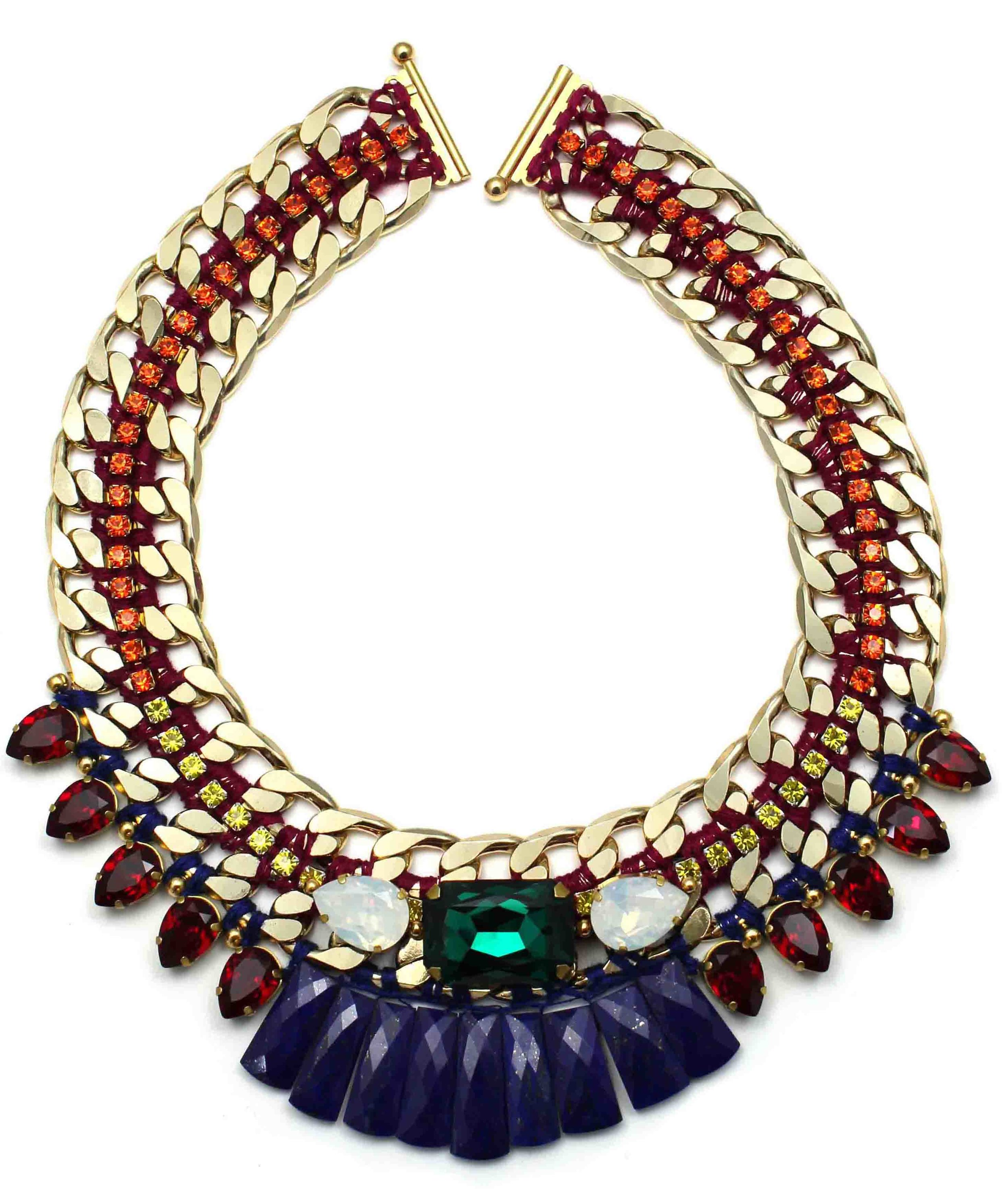 135 Tropicana Bright Tribal Necklace.jpg