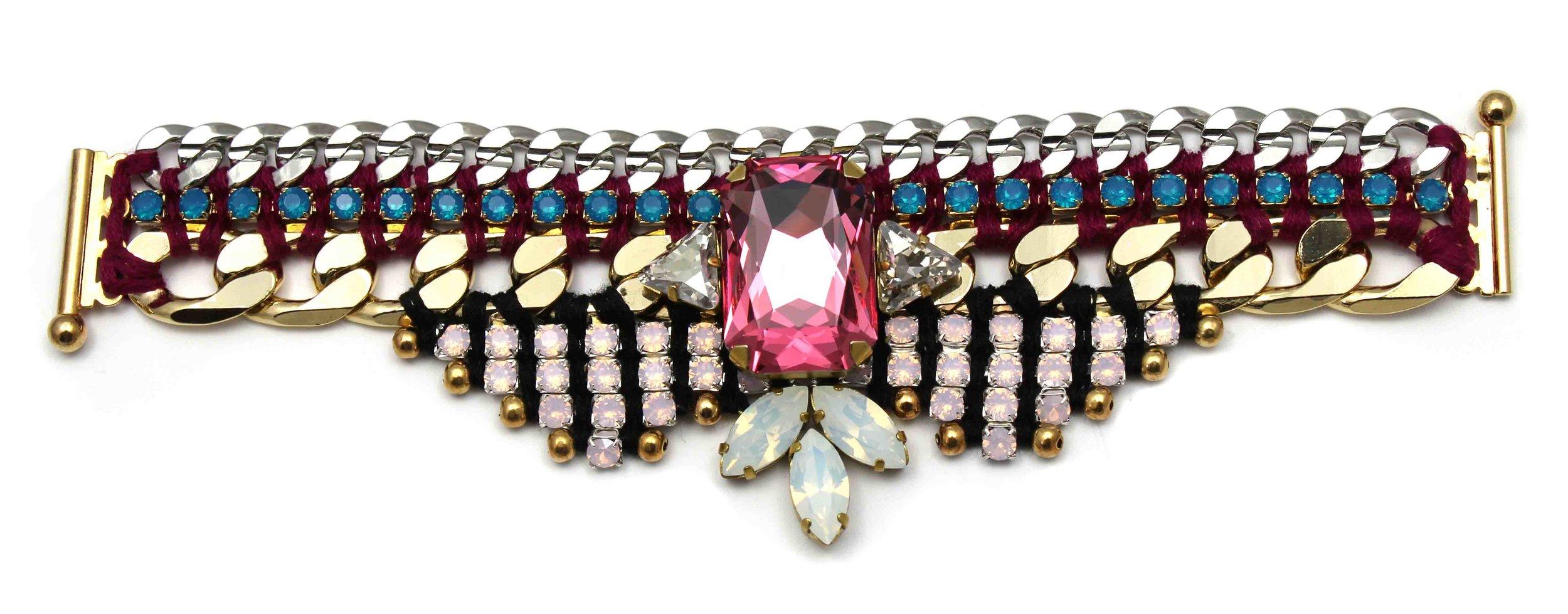 153 Tropicana Nude Embellished Bracelet.jpg