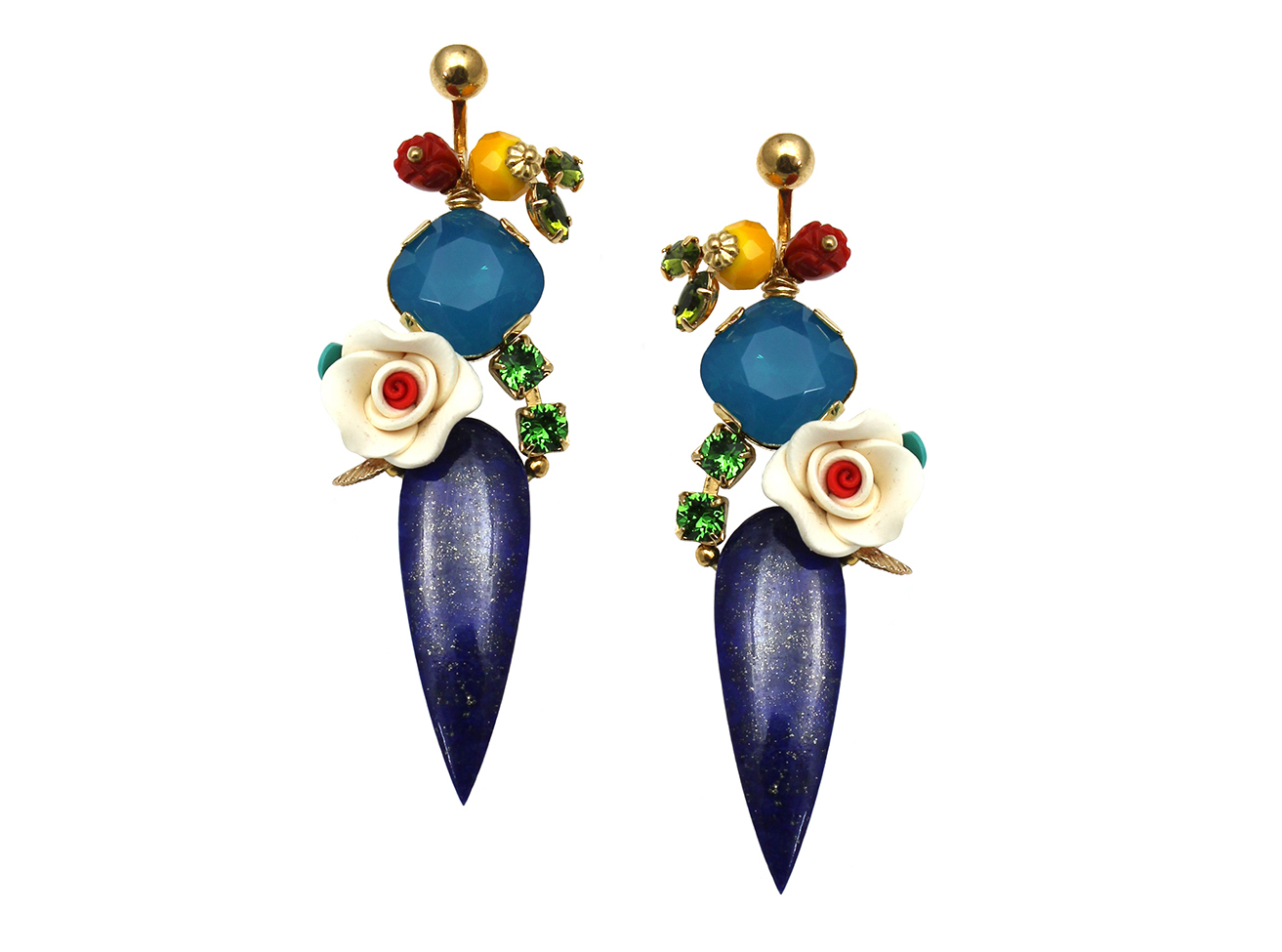155 Lapis Drop Botanical Earrings.jpg