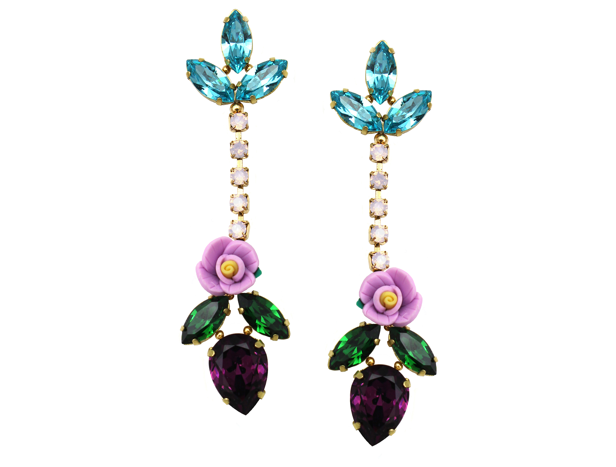 160 Long Botanical Drop Earrings.jpg