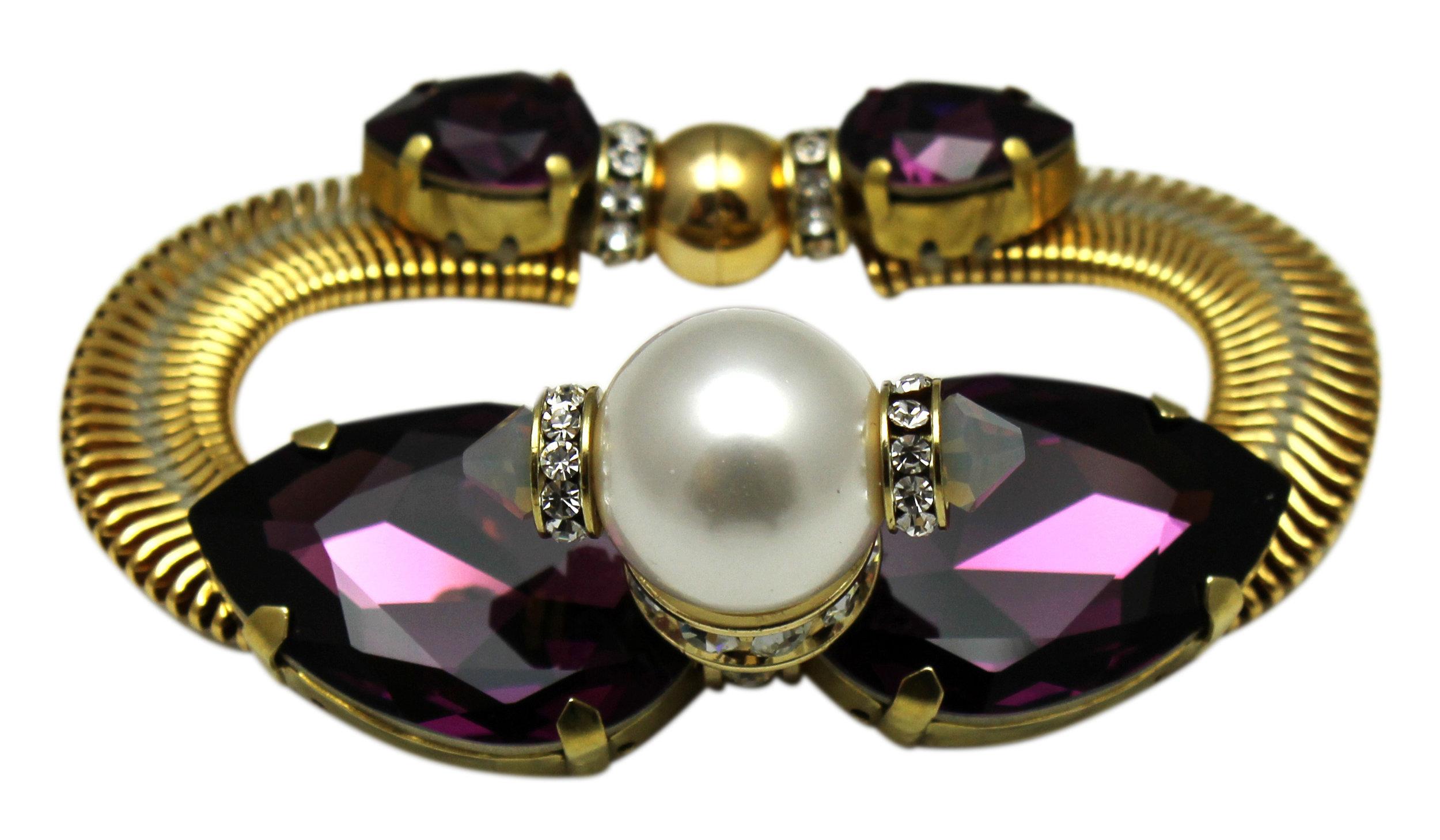 179B-PW Monaco Bracelet - Purple_White (C1).JPG