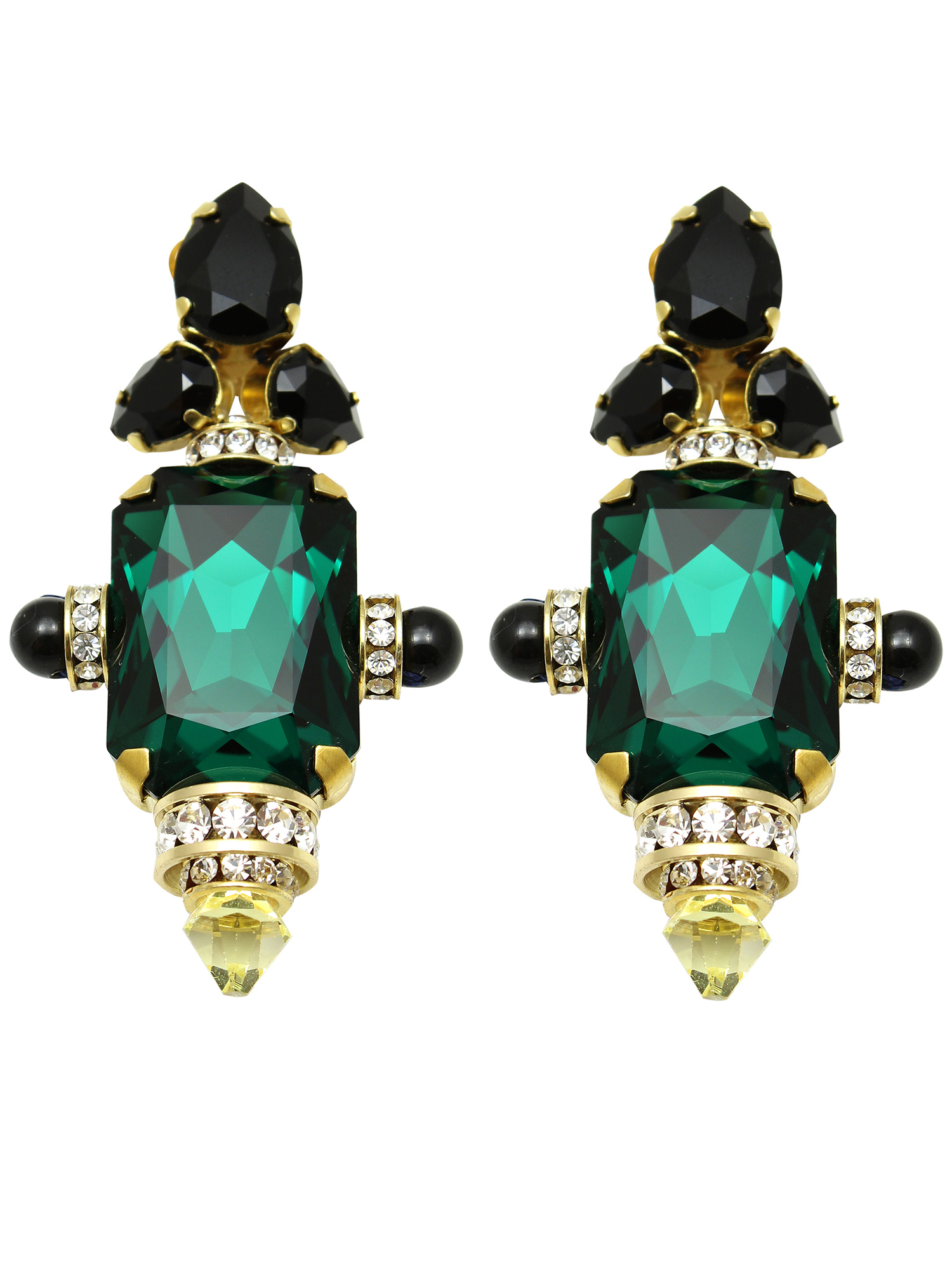 182E-GB Moscow Earrings - Green_Black.jpg
