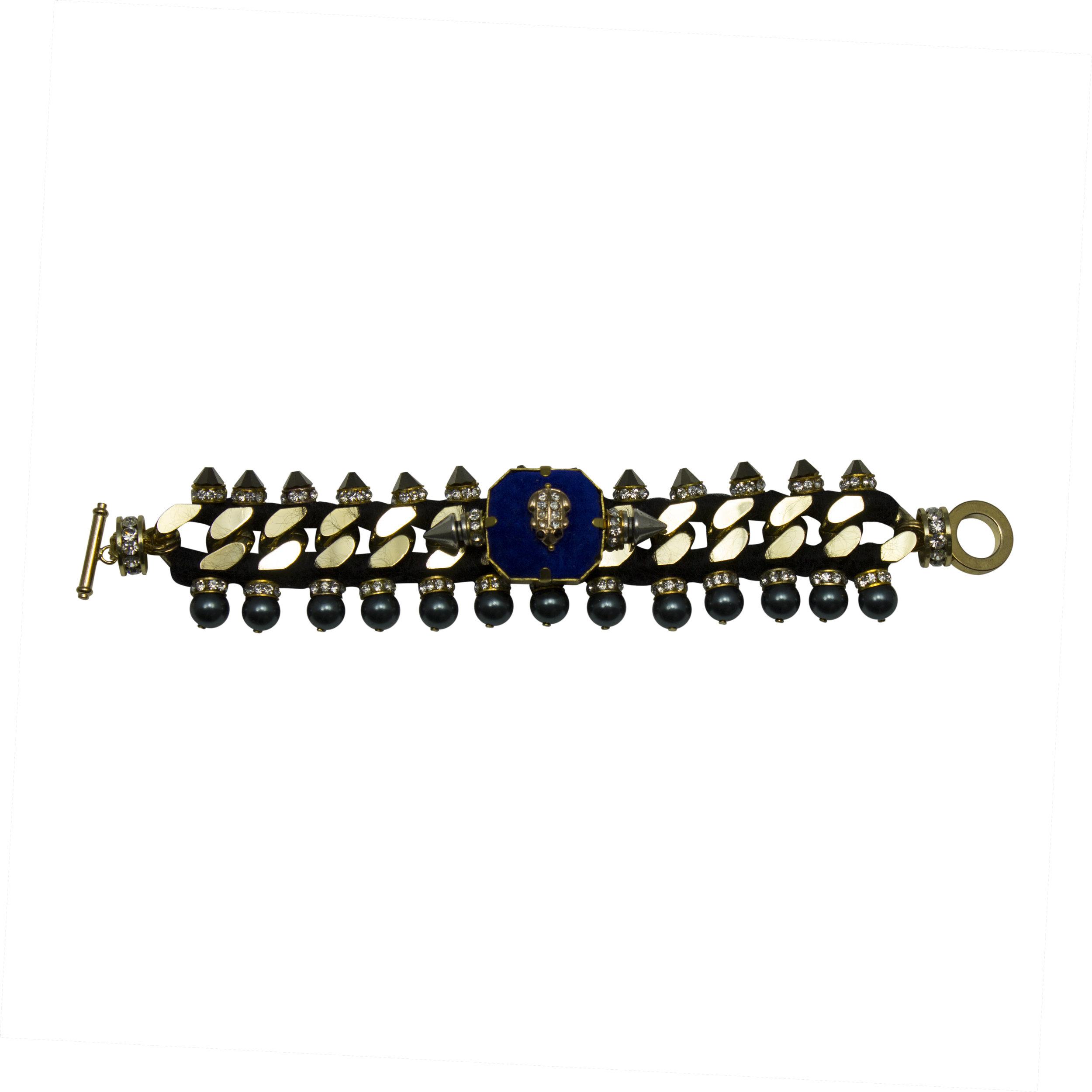 220B Blue & Gold Military Bracelet.jpg