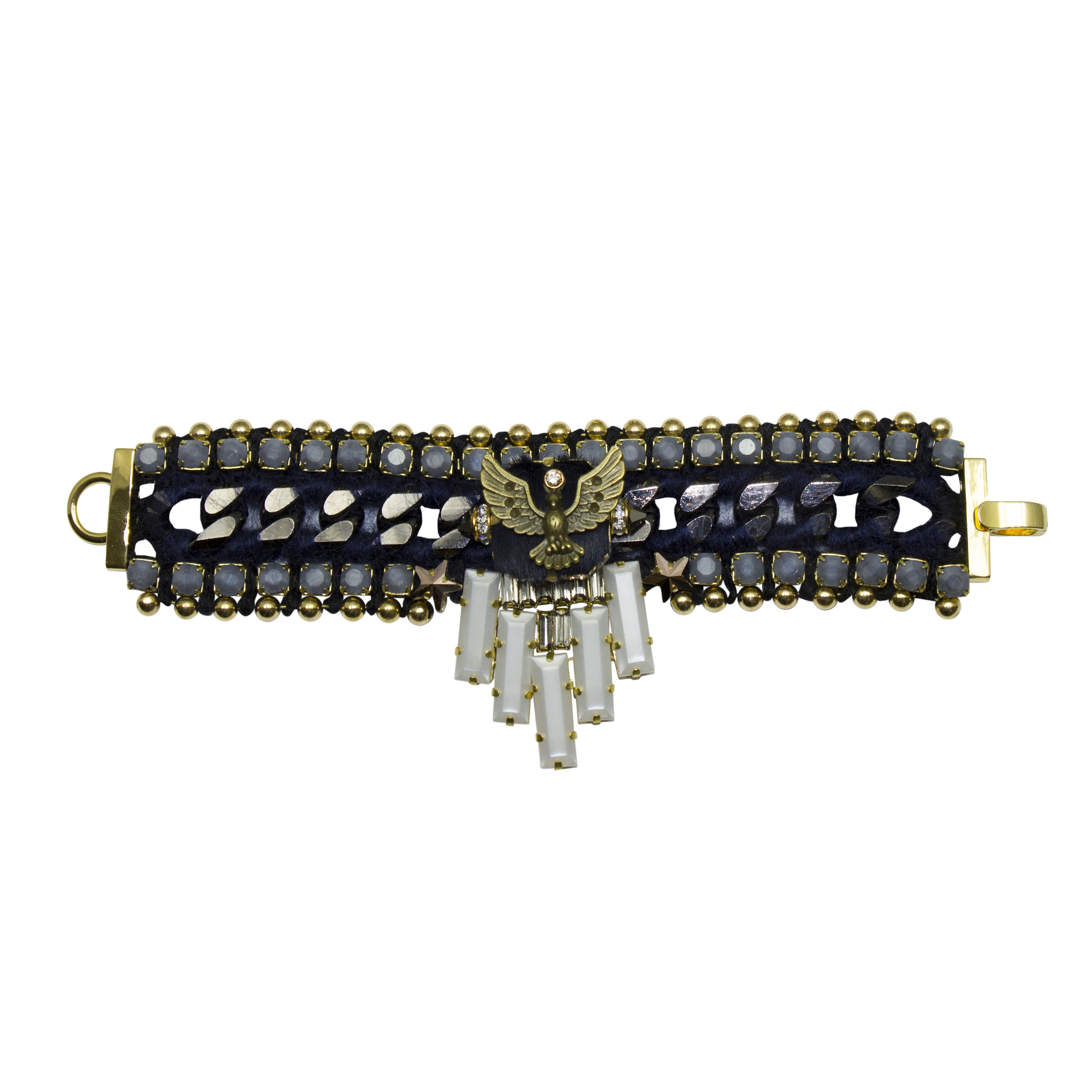 223B Grey & Navy Aviator Star Bracelet.jpg