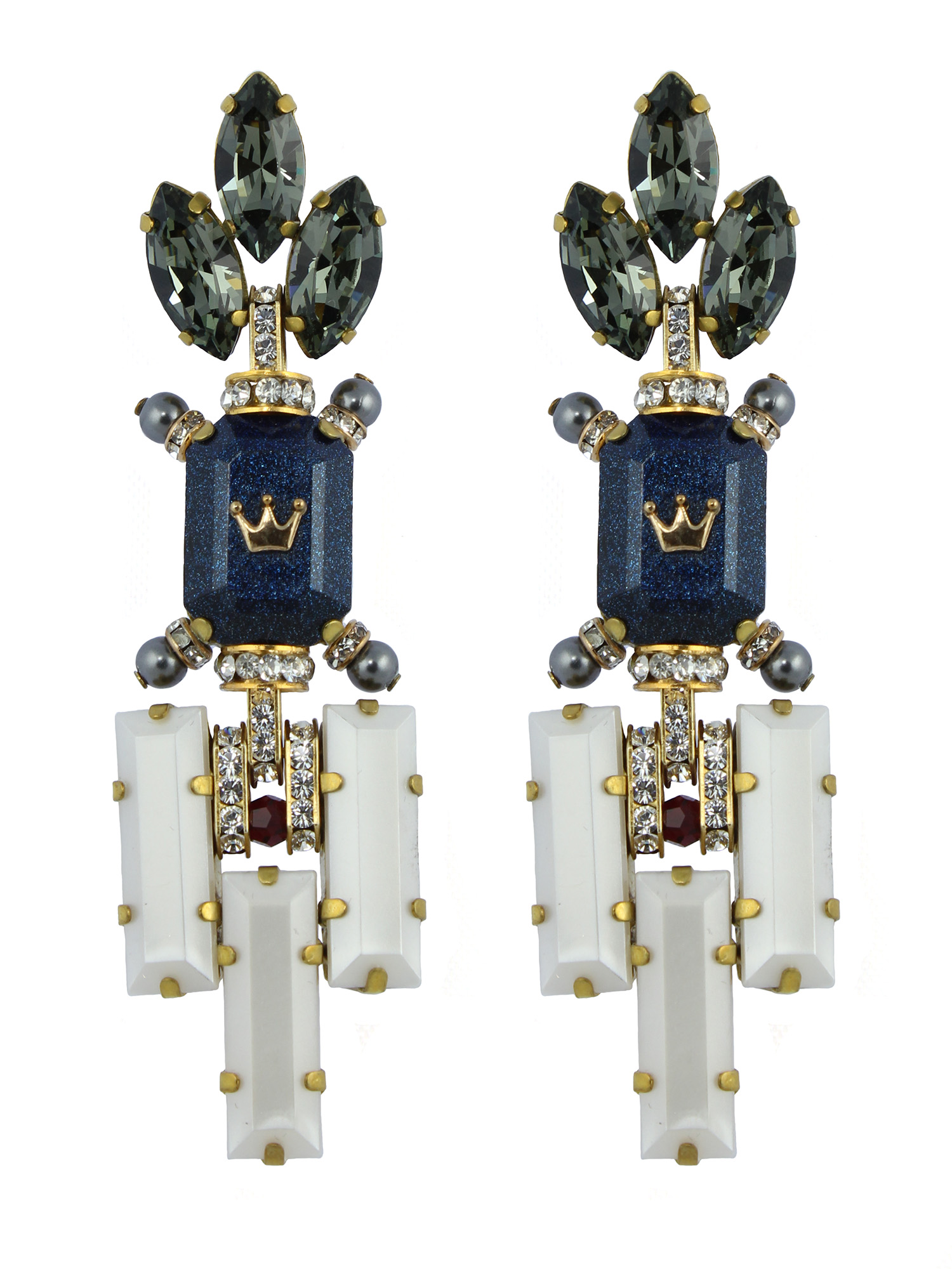 233E Grey & Blue Deco Dangle Earrings.jpg