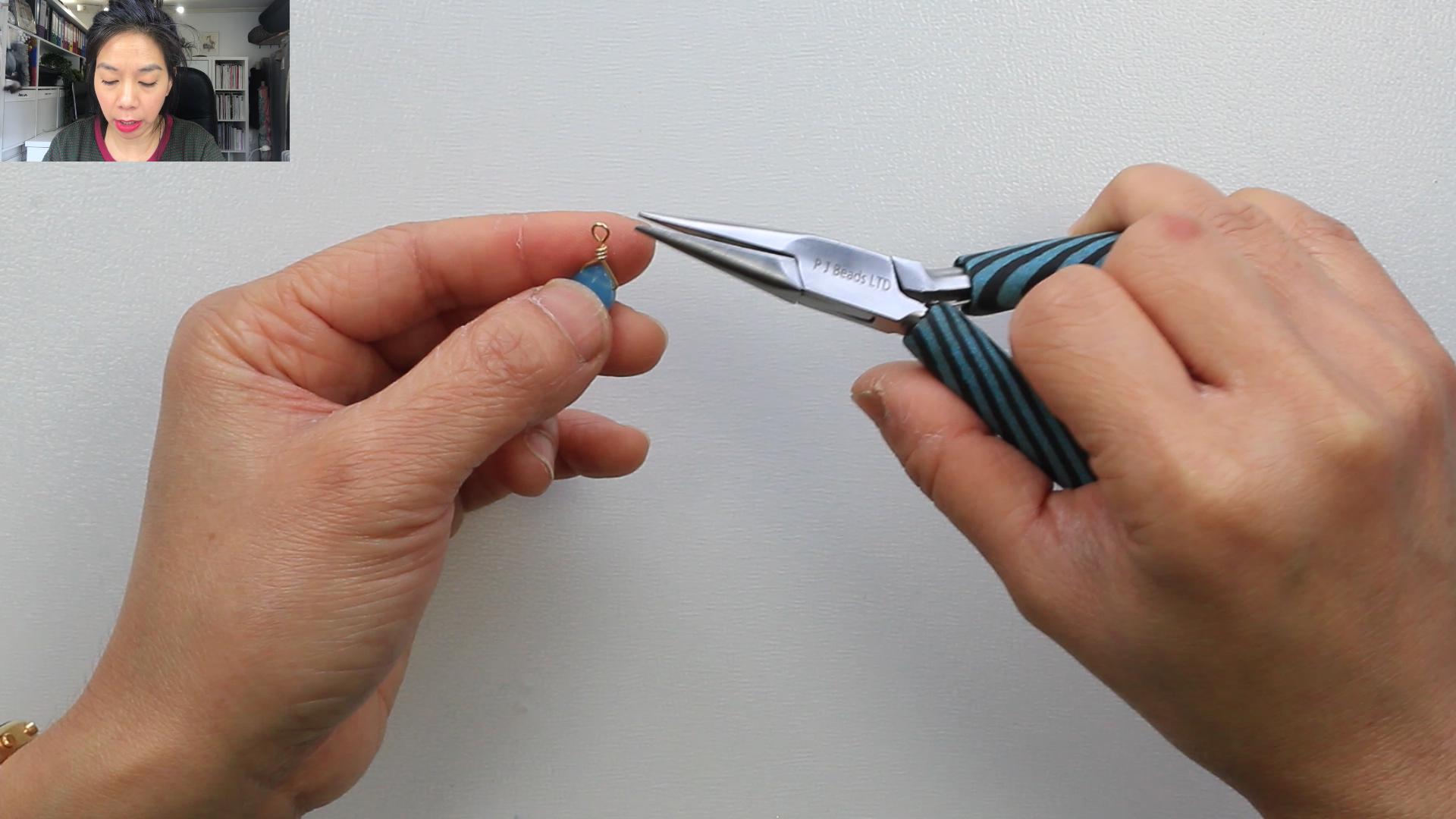 MAKE HANGING DROPS USING HEADPINS