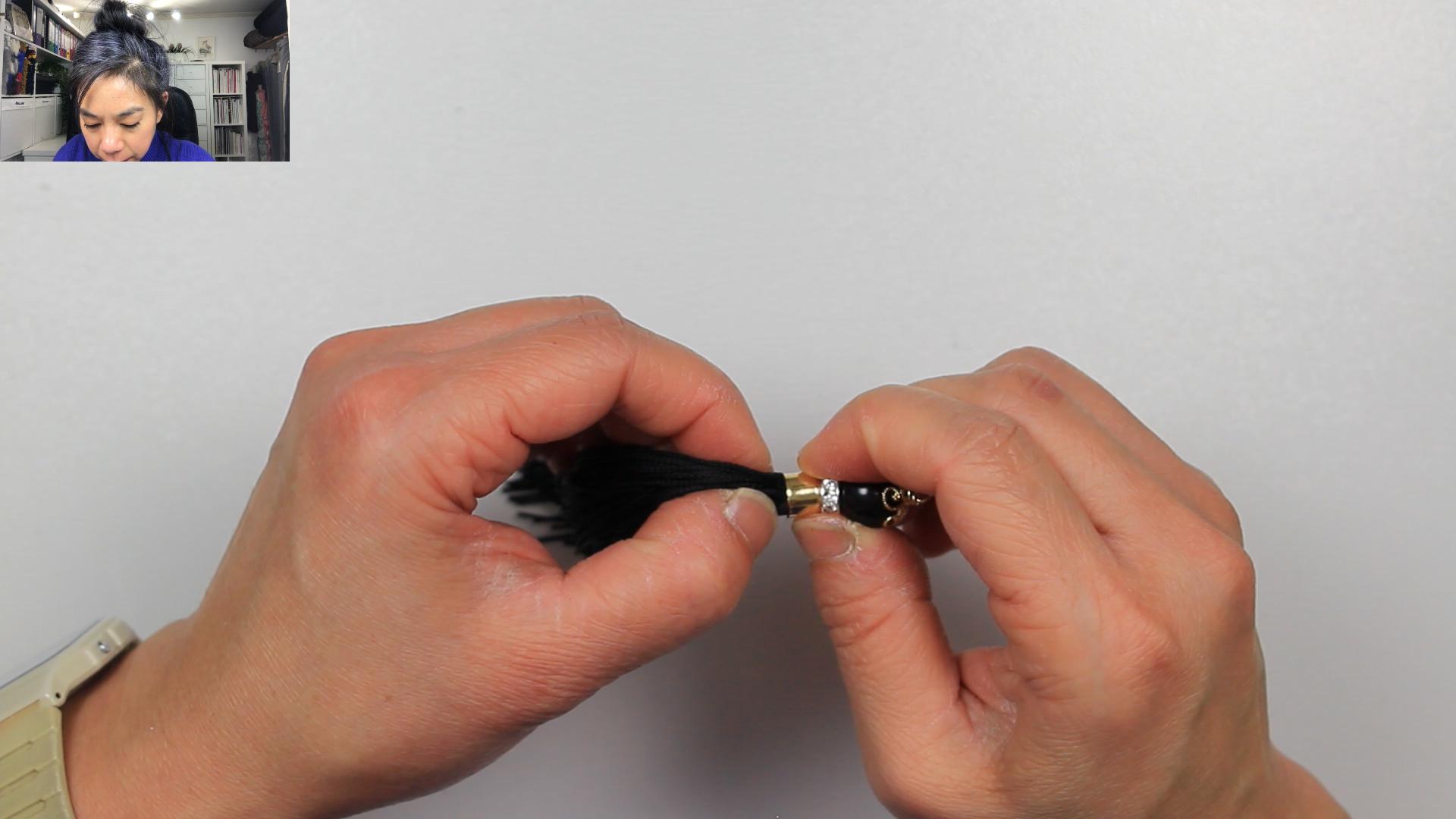 VIDEO TUTORIAL - PEARL & TASSEL EARRINGS