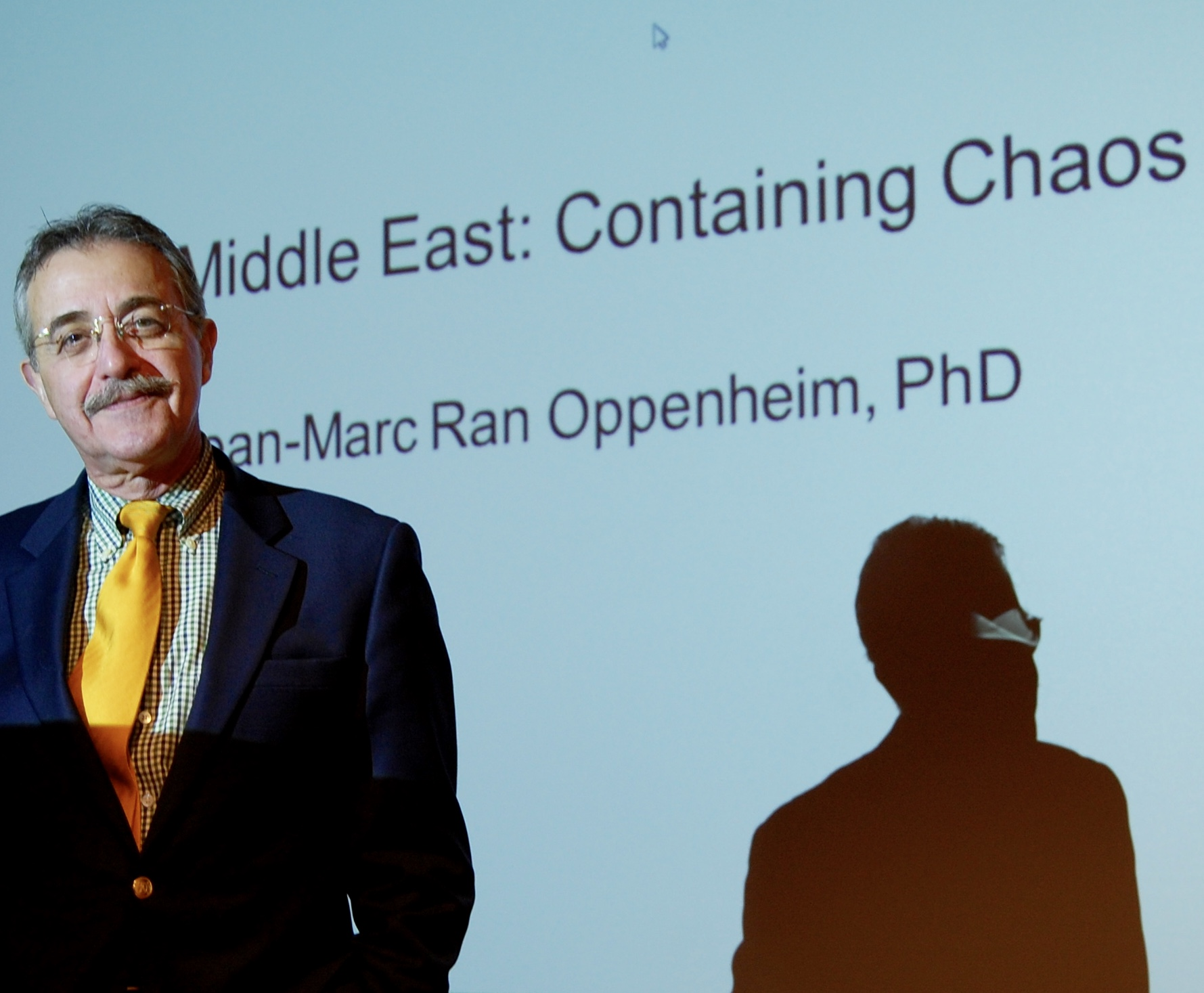 Professor Jean Marc Oppenheim's course on the Middle East: Containing Chaos