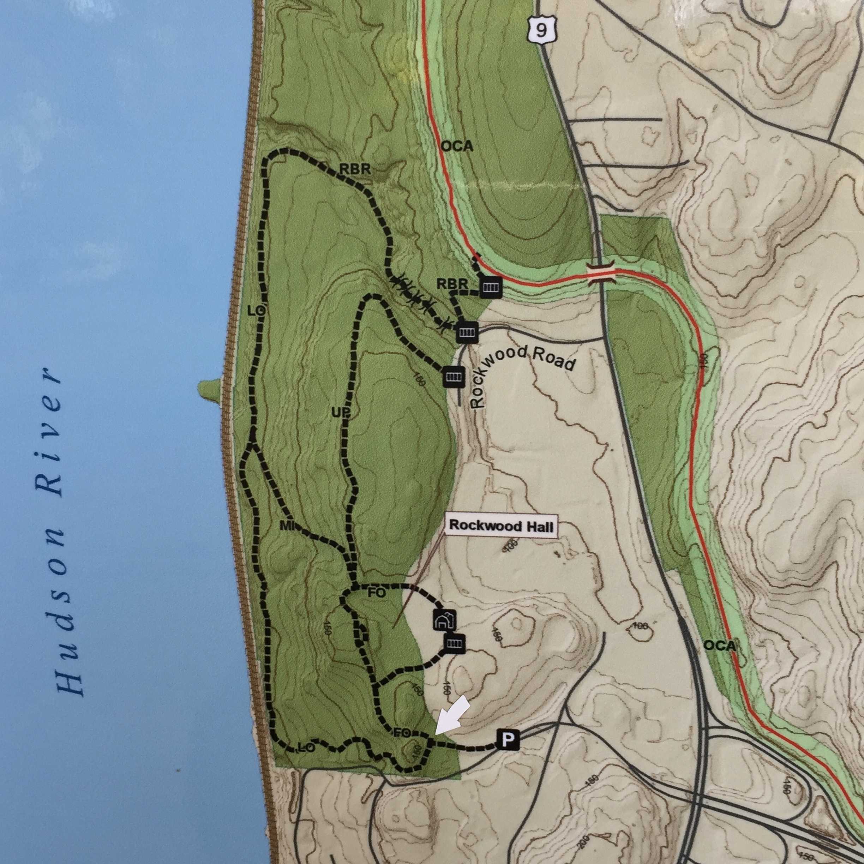 Map of Rockwood Park