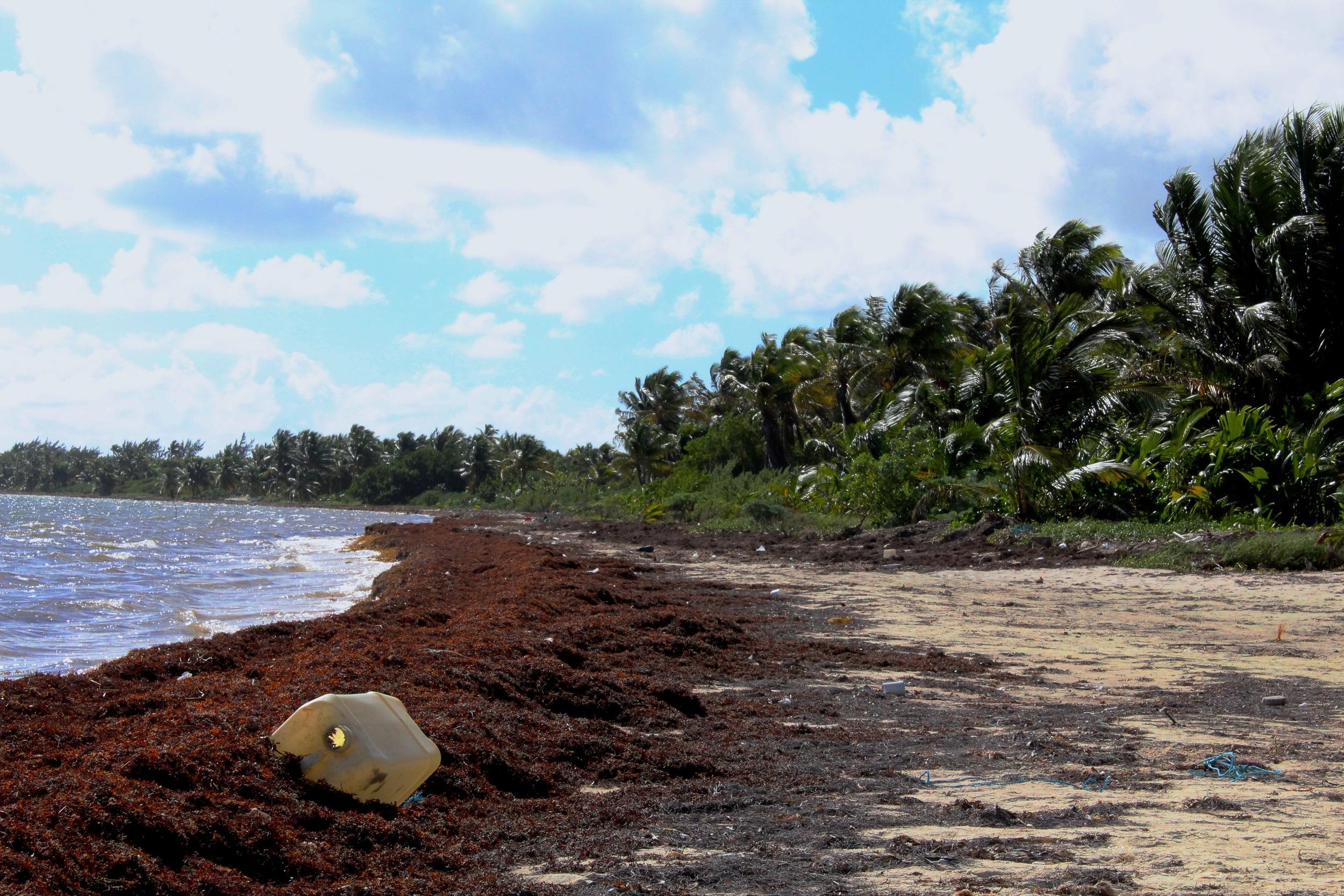 The beach at Xamach