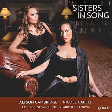 Nicole Cabell and Alyson Cambridge, acclaimed sopranos and close  friends, record together for the first time on an album of opera duets by Mozart, Offenbach, Humperdinck, and Delibes and specially commissioned duet arrangements of classical songs, folk tunes, and  African-American spirituals. Lake Forest Symphony conducted by Vladimir Kulenovic. - iTunes | Amazon