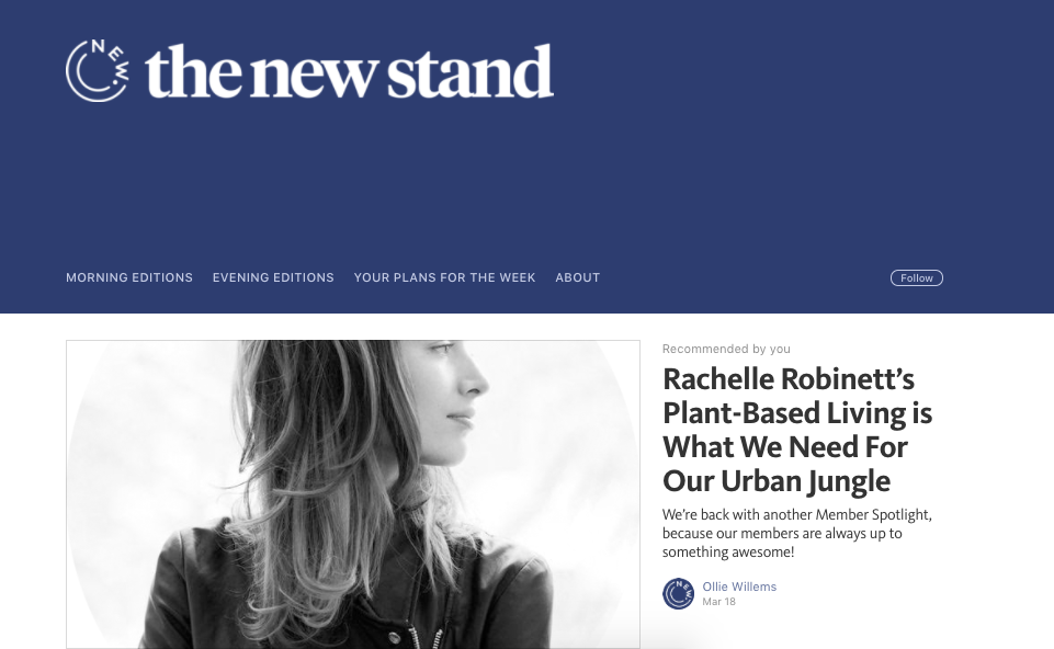 rachelle robinett new york health wellness herbalism nutrition interview the new stand