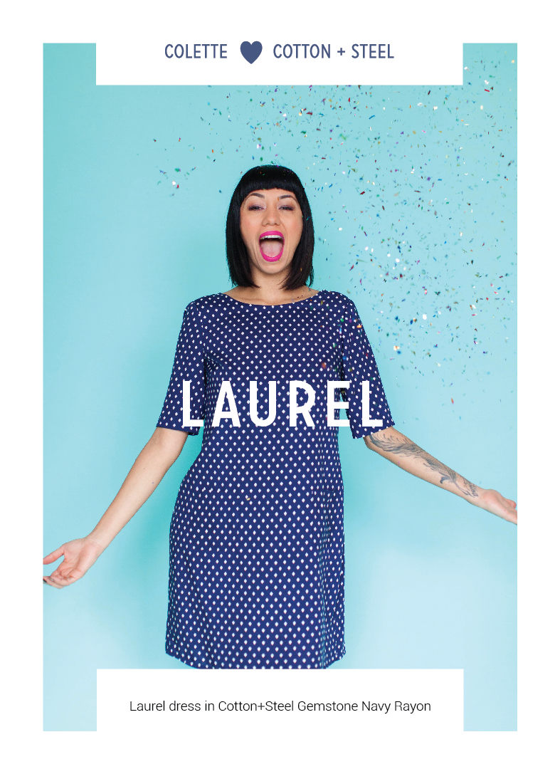 Laurel by Colette Patterns via The Crafty Mastermind