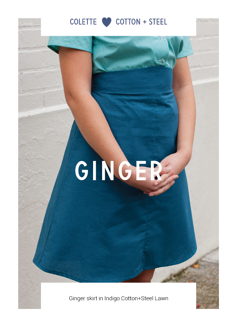 Ginger by Colette Patterns via The Crafty Mastermind