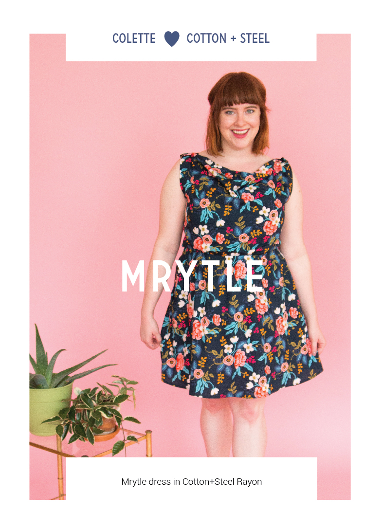 Mrytle by Colette Patterns via The Crafty Mastermind