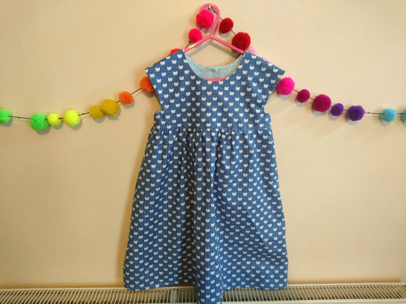 geranium dress from the crafty mastermind
