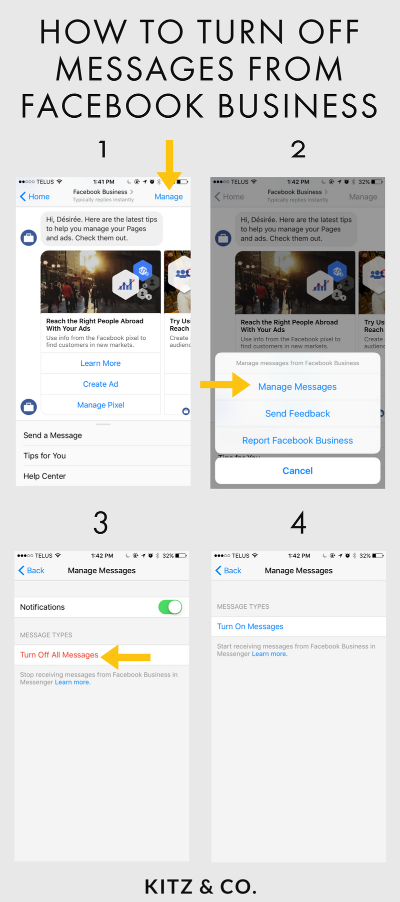 Sick Of Getting Messages From Facebook Business? Here's How