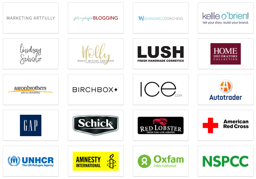 You're in good company. These are just a few of the cool brands using Interact quizzes to expand their reach!